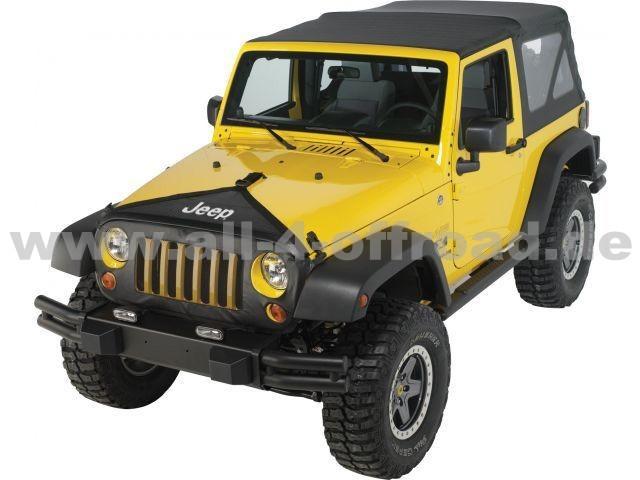 motorhaubenschutz jeep wrangler jk