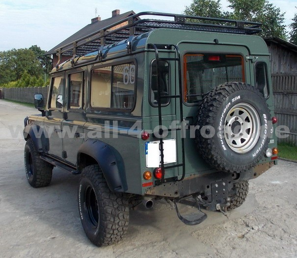 expeditionsdachtr ger land rover defender 110 all 4. Black Bedroom Furniture Sets. Home Design Ideas