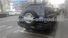 HD-Ersatzradhalter, passend zu HD-Heckstoßstange Jeep WJ