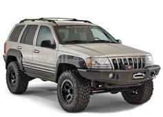 Kunststoffabdeckungen Bushwacker POCKET Jeep Cherokee WJ
