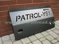 HD-Unterfahrschutz für Nissan Patrol Y61 (98 -10)