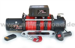 Seilwinde XTR 12000 Lbs (5443 kg) 12V Synthetikseil 26m