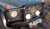 HD-Windenstoßstange - für Mercedes G 461, 463 - mit Rammschutz